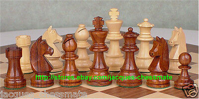 German Knights Staunton Sheesham Wood Chess Set - Brand New - Free Shipping!!!
