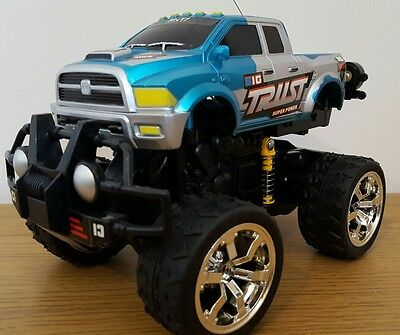 Monster Truck Off Road 360 Stunt Wheelies Rechargeable Radio Remote Control Car