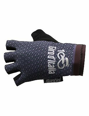 2017 Giro d'Italia Stage 16 Cima Coppi Summer CYCLING GLOVES by Santini