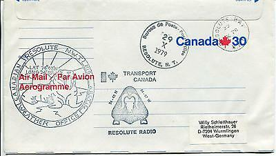 Canadian Resolute Bay Radio Weather Office Station Polar Antarctic Cover