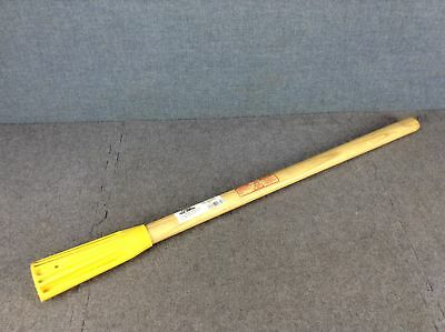 True Temper 36 Inch Railroad Clay Pick Hardwood Replacement  Handle - 2036900