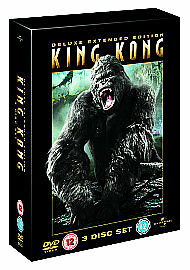 King Kong (DVD, 2006, 3-Disc Set, Deluxe Extended Edition)