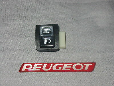 New Genuine Peugeot SC80 Scooter Handelbar Dip Switch High Low Button PE729998