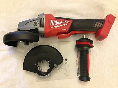 "New Milwaukee Fuel 2783-20 M18 18V Brushless 4-1/2"" - 5"" Braking Angle Grinder"