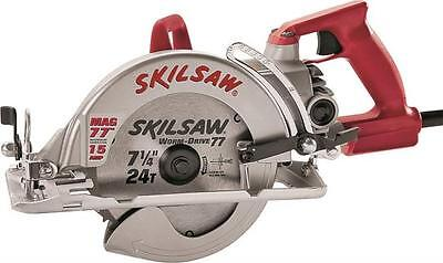 "New Skilsaw Spt77Wm-22 7 1/4"" 15 Amp Magnetic Worm Drive Electric Circular Saw"