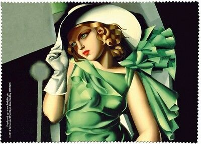 Lempicka: Young Lady with Gloves - Glasses cleaning cloth microfibre