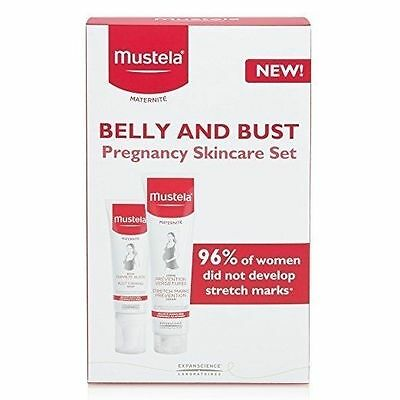 Genuine Mustela Pregnancy Belly and Bust Set