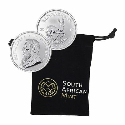 2017 South Africa Silver Krugerrand 50th Anniversary - Limited Edition