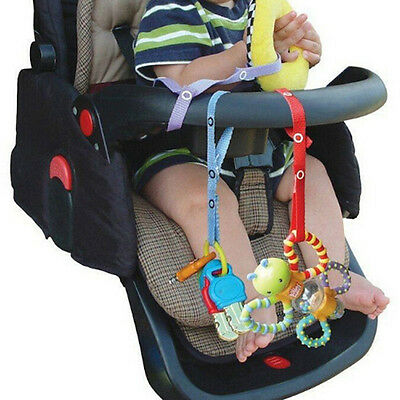 Baby Safe Seats Toys Fixed Toy Stroller Toy Pacifier Chain Tether Portable Strap