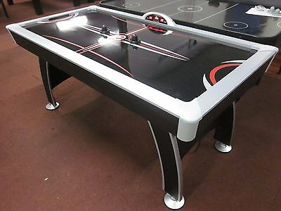6 Ft Air Hockey Table With Electric Fan And Accessories