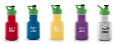 Klean Kanteen - 355ml (12oz) - Water/Juice Bottle - KID KANTEEN - SPORT CAP