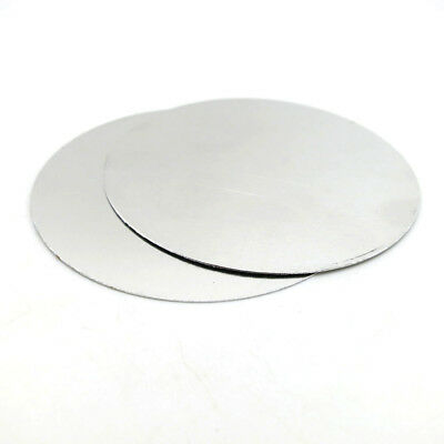 Round Aluminum Sheet Disc Plate 58x0.3mm 170X3mm DIY Model Craft Art Handmade