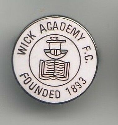 Wick Academy - Scottish Highland League - lapel badge