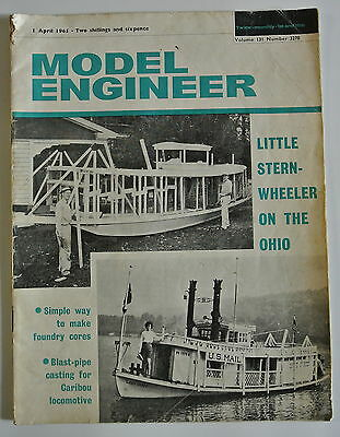 The Model Engineer Magazine. Vol. 131. No. 3270. 1st April, 1965.