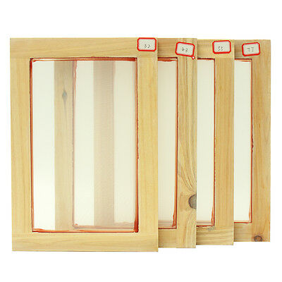 Screen Printing Frames - A5 Size & 32T/43T/55T/77T Mesh Count - Screenprinting