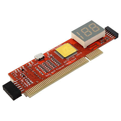 Mainboard 3-Digit Display Double Side Analyzer Test Diagnostic Card 2 in 1
