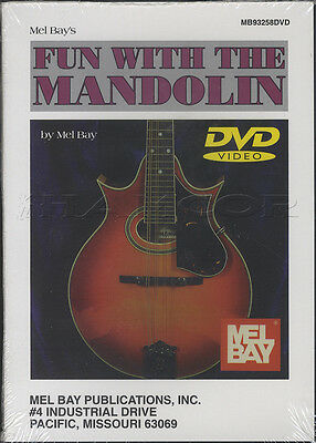 Mel Bay's Fun with the Mandolin Learn How to Play Tuition Joe Carr DVD