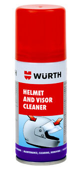 2 X Wurth Helmet And Visor Cleaner 150 Ml Double Pack Motorbike-Free Postage