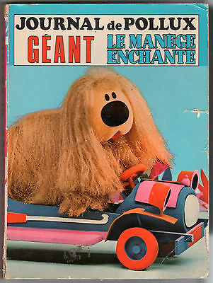 JOURNAL DE POLLUX GEANT n°1 ¤ LE MANEGE ENCHANTE ¤ 1978 MCL/SFPI
