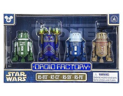 Star Wars Celebration 2017 Disney Droid Factory 4 Pack R5-013 R2-C2 R5-S9 R5-P8