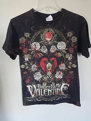 Vintage Bullet For My Valentine - Band Graphic Printed Tour T-Shirt Men Small