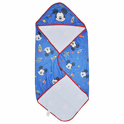 Disney Baby Boys Mickey Mouse Hooded Towel One Size