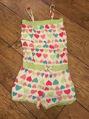 Girls Next Summer Playsuit Age 7-8 Years