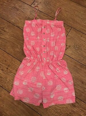 GIRLS SUMMER PLAYSUIT SIZE 10-11 Years