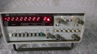 HP 5315A, 0 to 100 MHz  Universal Frequency Counter  USED