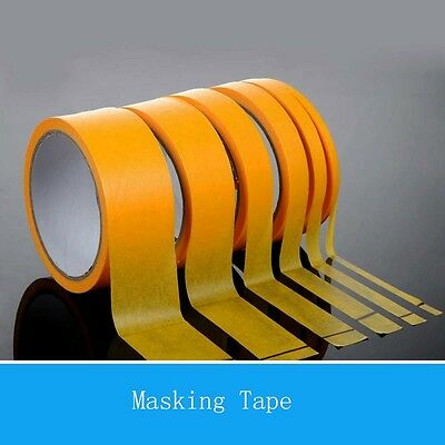 Thick 6mm Width 5-40mm Masking Tape Cover Tape Model Paint Coated Coloring Tape