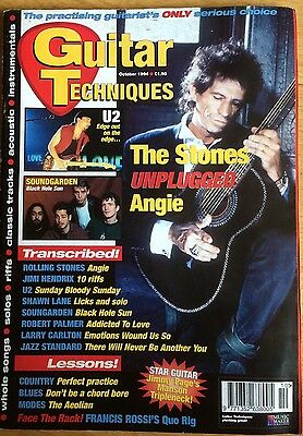 Guitar Techniques magazine (pre CD) October 1994