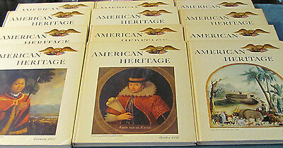Lot of 12 American Heritage Book Magazines - 1958 to 1960