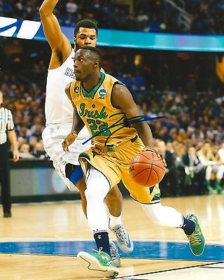 Sports Mem, Cards & Fan Shop Cheap Price Jerian Grant Signed 8x10 Photo Notre Dame Fighting Irish Ncaa Star Coa 100% Original
