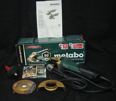 Metabo WP9-115 Quick 50th Anniversary 8.5 Amp 4-1/2 in. Angle Grinder