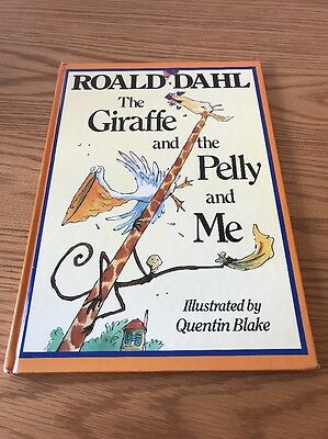 The Giraffe And The Pelly & Me - Roald Dahl ~ Hardback Book