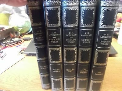 Job Lot Of D.h. Lawrence  Books