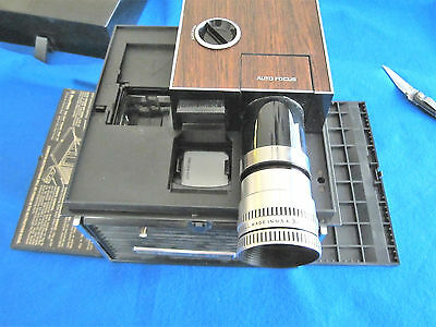 Vintage Bell & Howell Cube Slide Projector Model #991