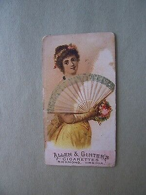N7 A&g Fans Of The Period Tobacco Card Number 10