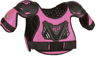 06053-285 Fox Titan  Pee Wee Pink  Roost Chest Back Protector S/M or M/L Sizes