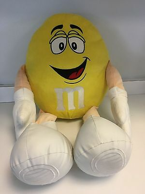 Large M & M Yellow Plush Doll from 2012