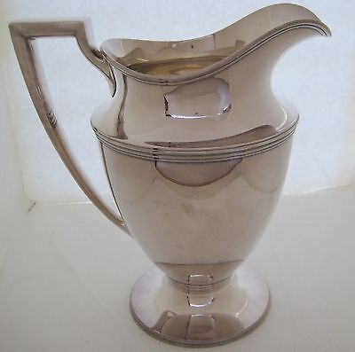 Tiffany Sterling Silver Water Pitcher 1113 GRAMS SOLID SILVER 4 PINTS
