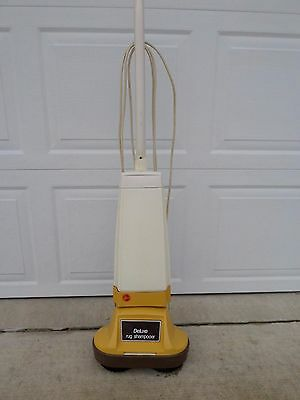 Vintage Hoover Rug Cleaner Floor Scrubber Polisher Buffer Waxer Model 5308