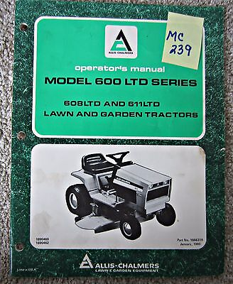 ALLIS CHALMERS MODEL 616 Special Operators Owners Manual Lawn Garden on murray wiring schematic, jcb wiring schematic, craftsman wiring schematic, new holland wiring schematic, square d wiring schematic, simplicity wiring schematic, yale wiring schematic, wabco wiring schematic, dixon wiring schematic, mtd wiring schematic, john deere wiring schematic, ge wiring schematic, snapper wiring schematic, cutler hammer wiring schematic, toro wiring schematic, gmc wiring schematic, kubota wiring schematic, volvo wiring schematic, power king wiring schematic, kohler wiring schematic,