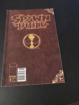The Spawn Bible #1 RARE NEWSSTAND VARIANT  1st PRINT !!