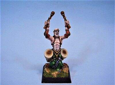 Confrontation painted miniature Dirz warrior Drummer