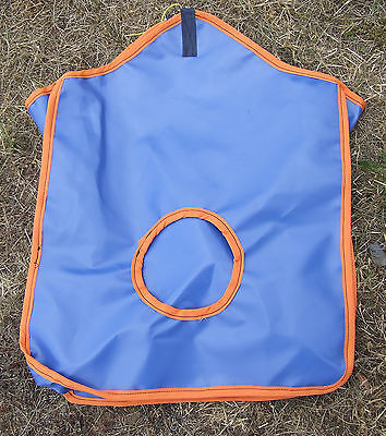 Ecotak PVC Hay Bag - Royal Blue/Orange Ecotak