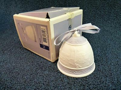 Lladro 6010 Christmas Bell Ornament 1993 MINT IN BOX (o893)