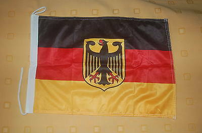 Deutschland mit Adler Bootsflagge Bootsfahne Boot Flagge Fahne