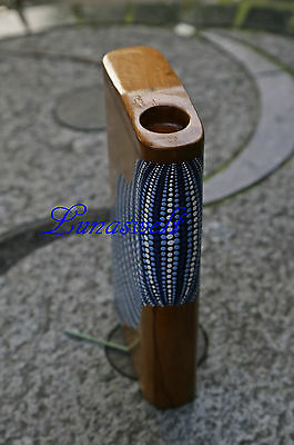 Didgeridoo - Reise Didge - Travel Didgebox Dotpaint