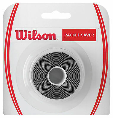 Wilson Racket Saver - Tennis Racket Head Protection Tape - Black - Free P&P